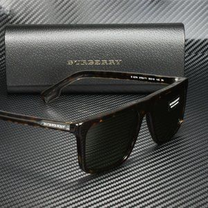 Burberry Dark Havana 55mm Sunglasses
